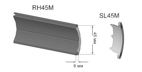 новый роллетный профиль rh45m